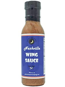 Premium | NASHVILLE Chicken Hot Sauce | Saturated Fat Free | Cholesterol Free | Low Sugar | Crafted in Small Batches with Farm Fresh Herbs for Premium Flavor and Zest