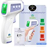Digital Infrared Forehead Thermometer, Non-Contact for Adults and Kids with 3 Function - Fever Alarm, Large LCD Screen and Da