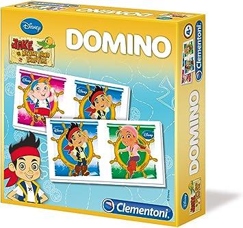 Clementoni - Domino, Modelo Jake y los Piratas: Amazon.es: Juguetes y juegos