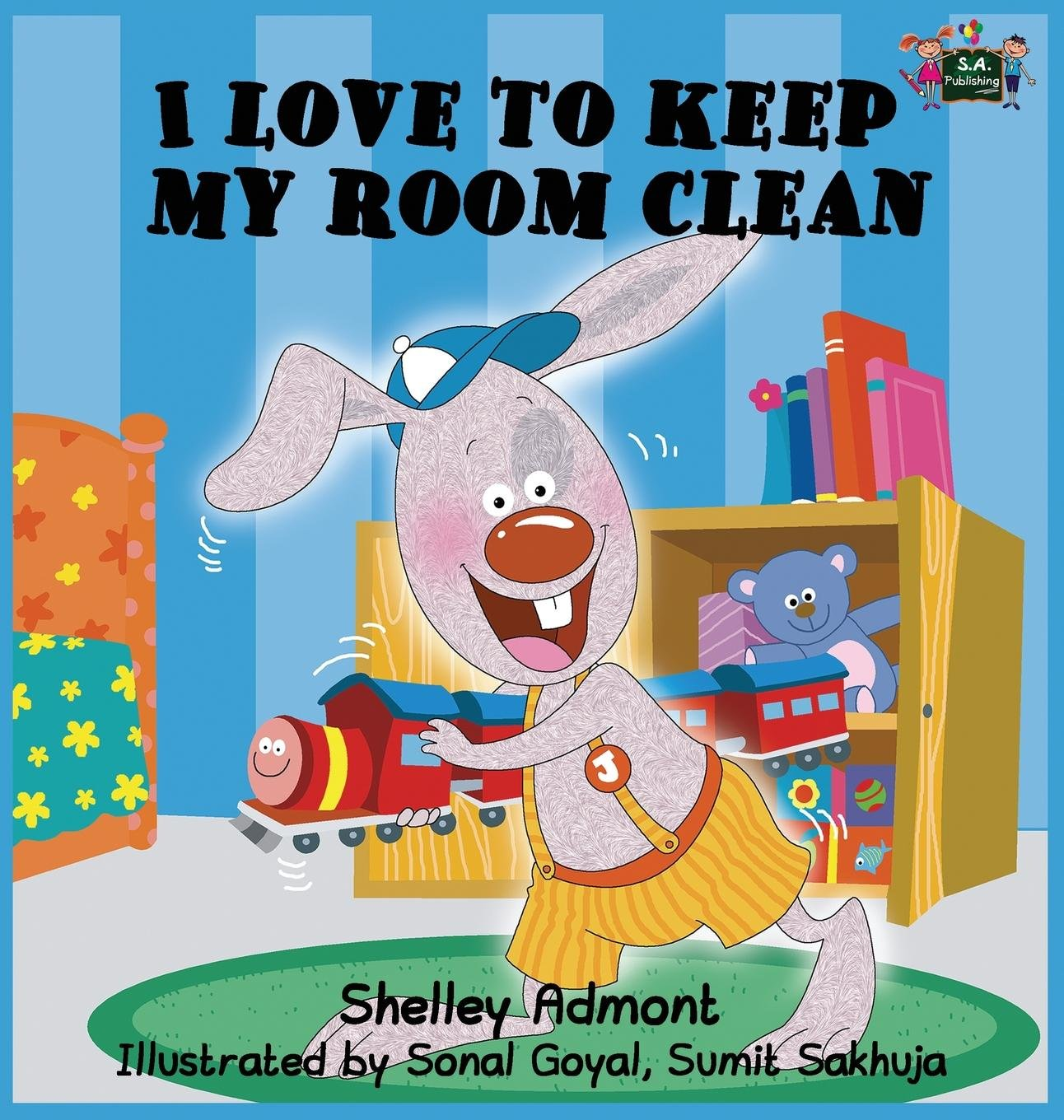 I Love to Keep My Room Clean: Children's Bedtime Story