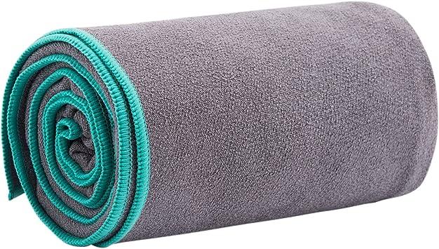Amazon.com: jkmeoo Hot Yoga Alfombrilla Antideslizante para ...