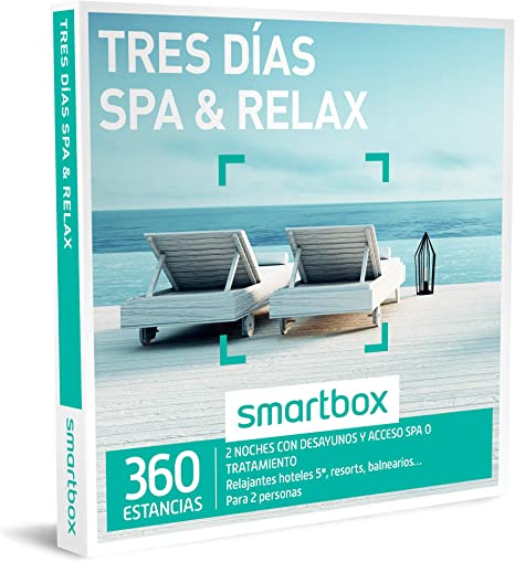 Smartbox - Caja Regalo - Tres DÍAS SPA & Relax - 360 estancias en ...
