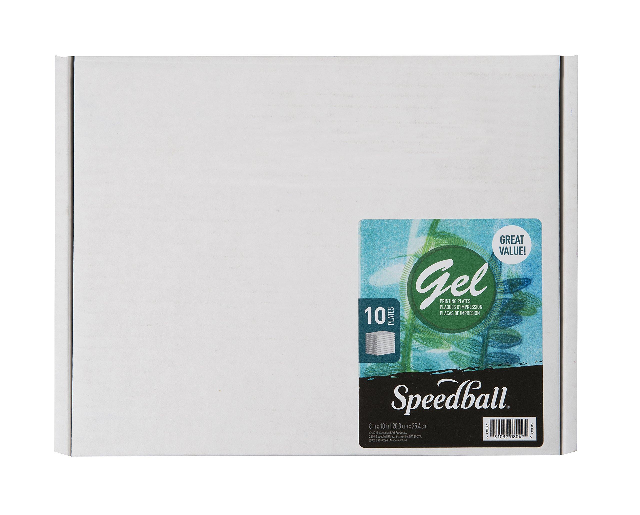 Plancha De Gel Para Impresiones Speedball 20x25cm X 10