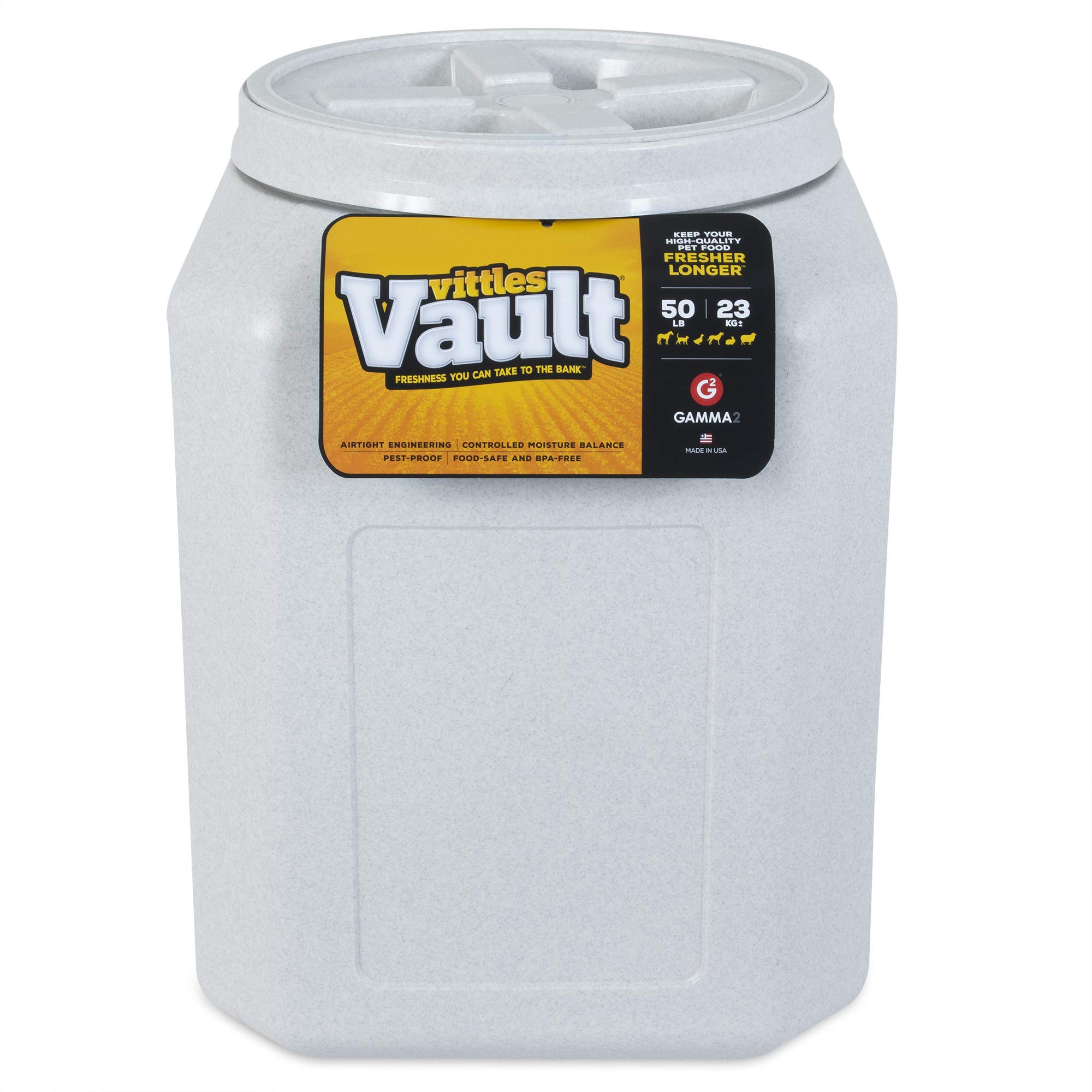 Gamma2 Vittles Vault Airtight Pet Food Storage Container