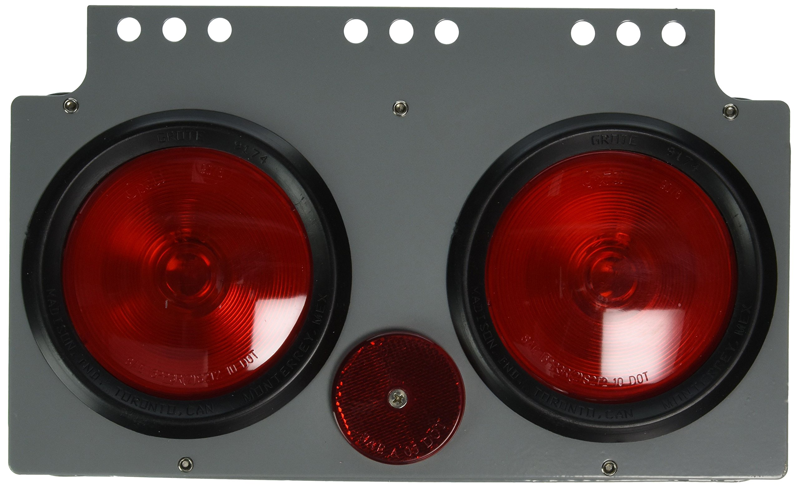 Grote 51052 Red 4'' Stop Tail Turn Light Power Module by Grote