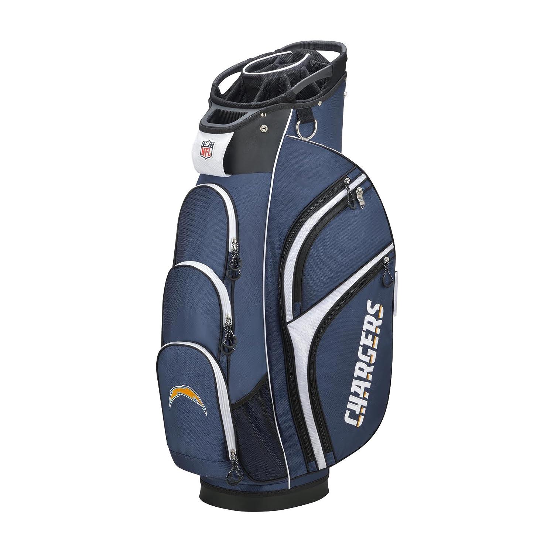 ウィルソンゴルフNFL Los Angeles Chargersカートバッグ   B07424TJK5