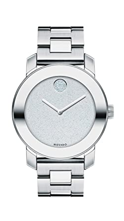 0b57ef9d1 Image Unavailable. Image not available for. Color: Movado Women's BOLD  Iconic Metal Stainless Steel Watch ...