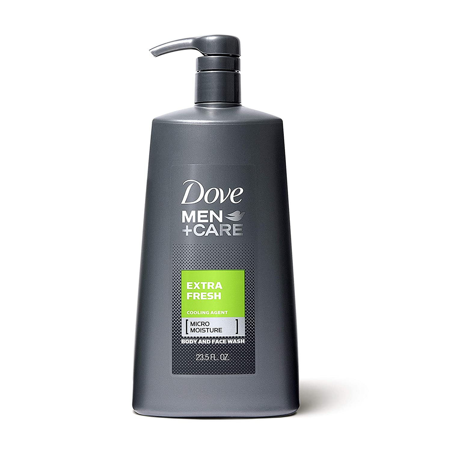 Amazon Com Dove Men Care Body And Face Wash Pump Extra Fresh 23 5 Oz For Dry Skin Effectively Washes Away Bacteria While Nourishing Your Skin Beauty