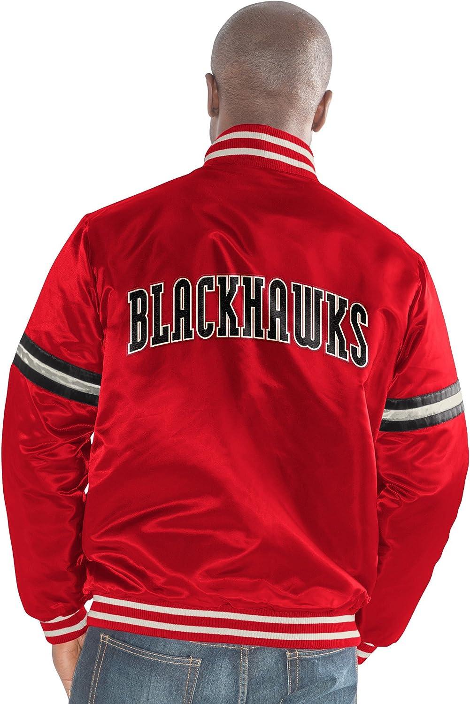 XX-Large Black Starter Adult Men Legecy Retro Satin Jacket