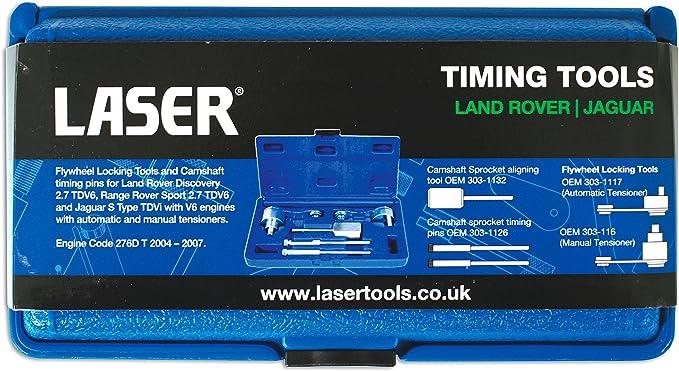 Laser 7431 JLR Herramienta de bloqueo y extracci/ón de bomba de combustible