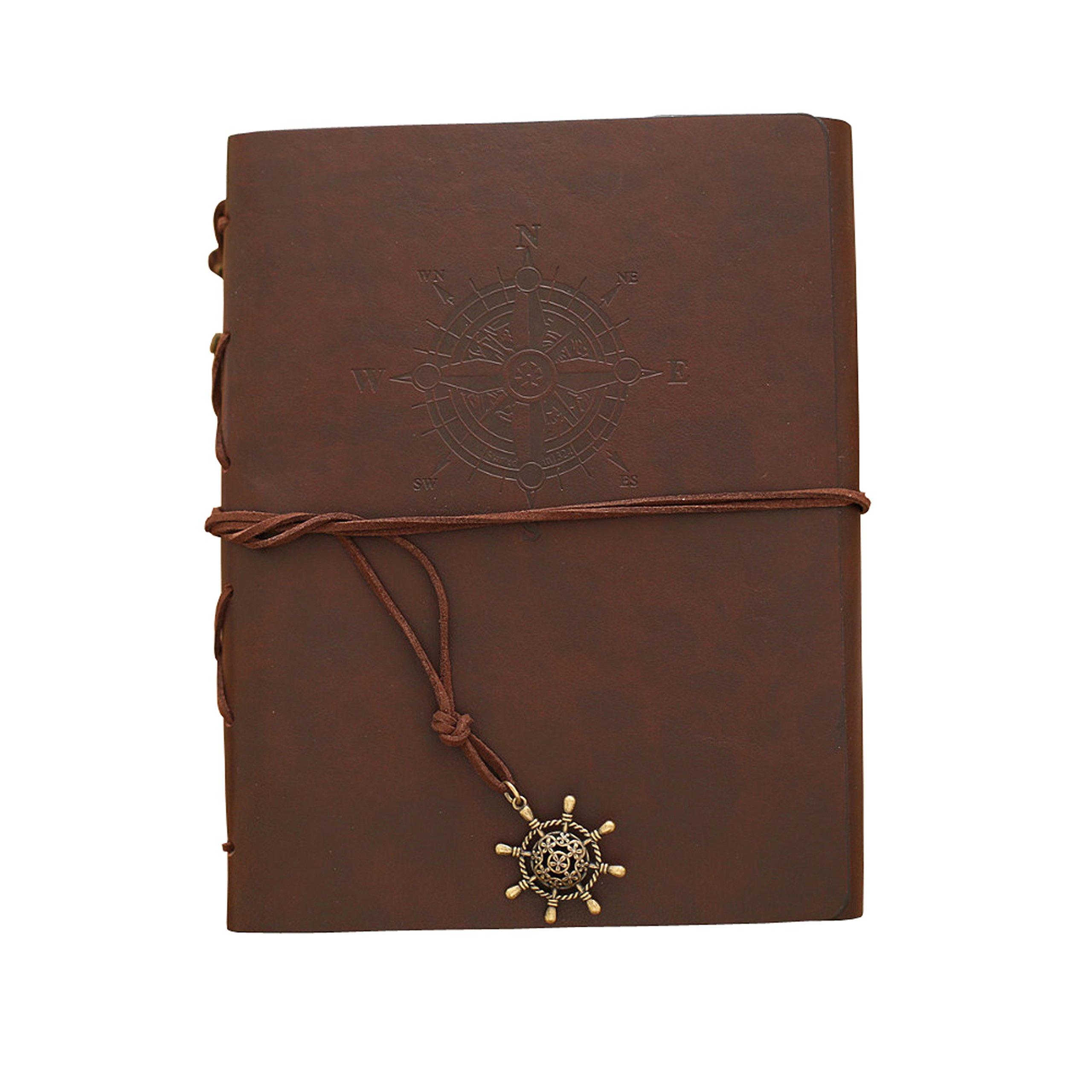 Zoview Adhesive Scrapbook Photo Album Memory Book , 60 Pages Hand Made DIY Albums ,Dark Brown