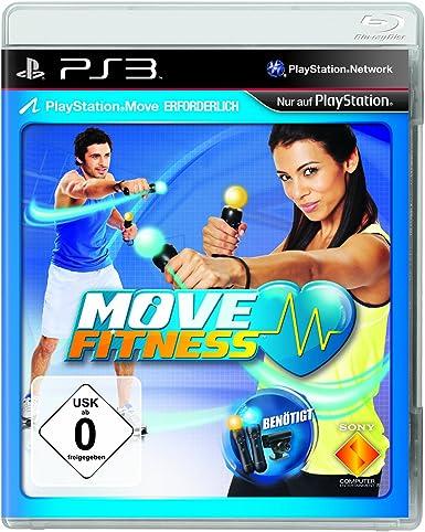 Sony Move Fitness - Juego (PlayStation 3, Deportes, DEU): Amazon ...