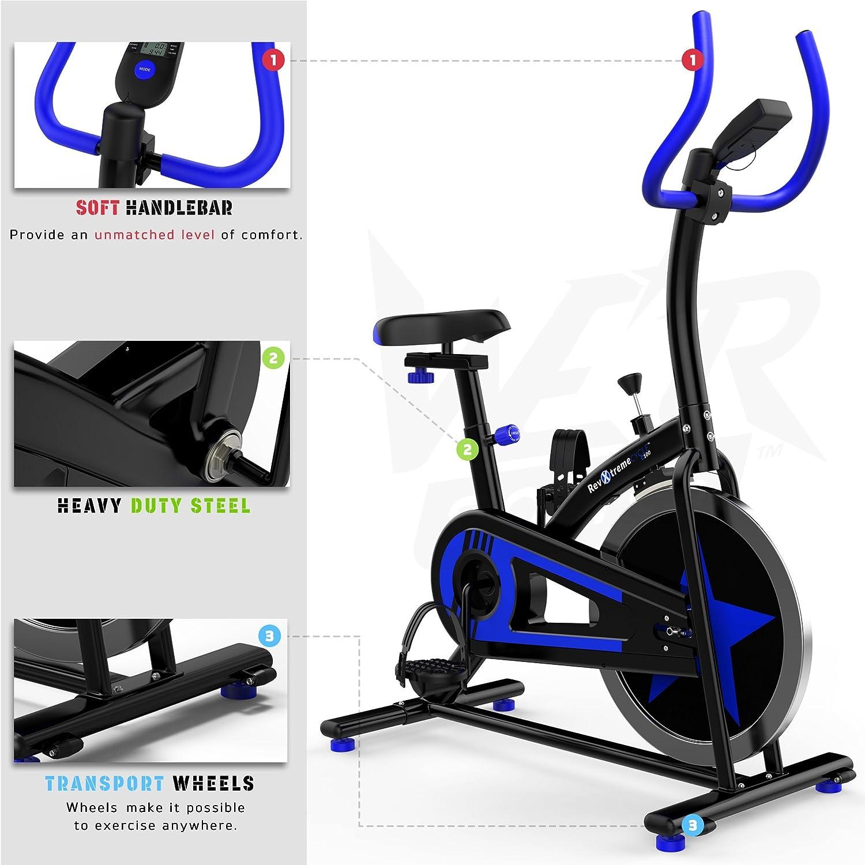 We R Sports Ejercicio Moto/Aerobio Interior Entrenamiento Ciclo Aptitud Cardio Ejercitarse Casa Ciclismo Máquina - 10kg Volante