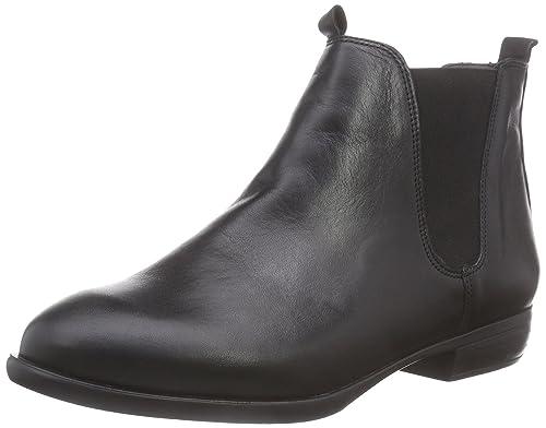 Inuovo Stalker - Botines Chelsea de Cuero Mujer, Color Negro, Talla 38: Amazon.es: Zapatos y complementos