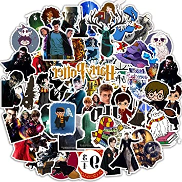 50 Harry Potter Personalidad Pegatinapvc Graffiti Pegatina Caja De ...