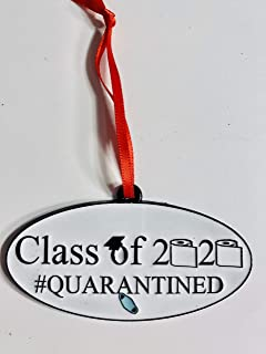 product image for Plymouth Cards Class of 2020 Quarantined Pewter Ornament