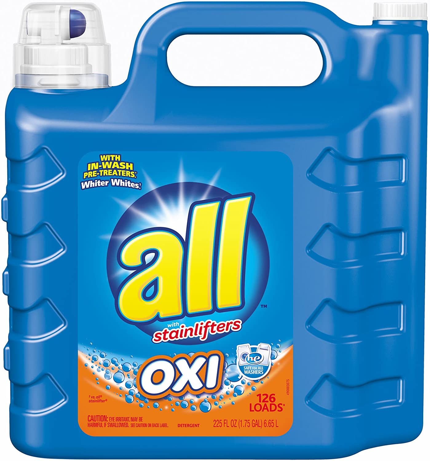 all Oxi Liquid Laundry, 225 oz.