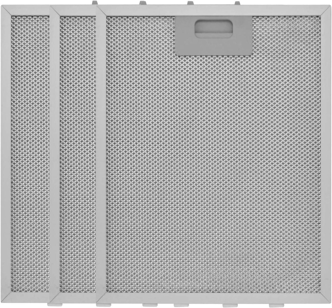 Filtro Campana Extractora Universal 320 x 260, Filtro de Grasa para Campana Extractora de Cocina por Poweka (3 Piezas)