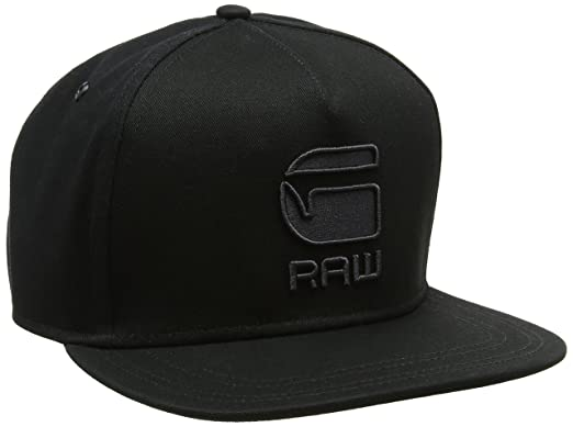 aad829338e8e8 G-STAR RAW Men's Obaruh Snapback Cap Baseball (Black 990), One (Size ...