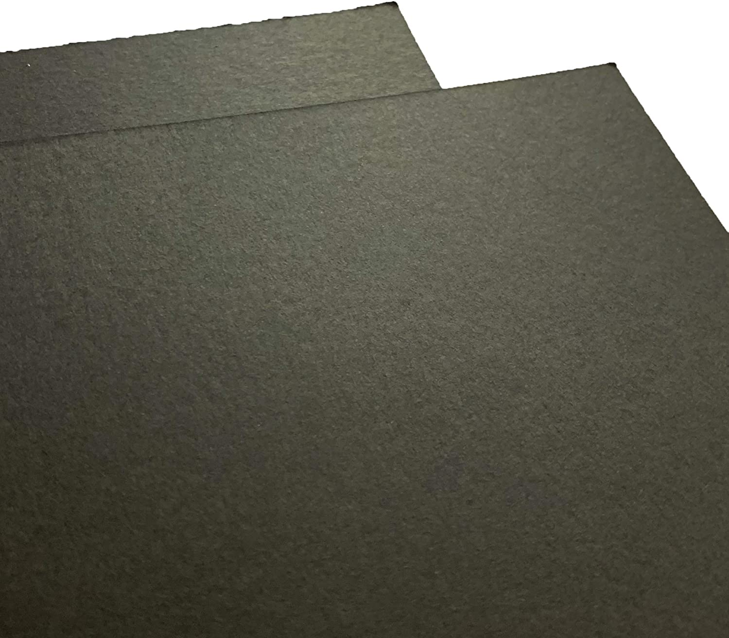 12 x 12 inches Black Cardstock Paper 300 GSM 50 Sheets 110 lb. Cover