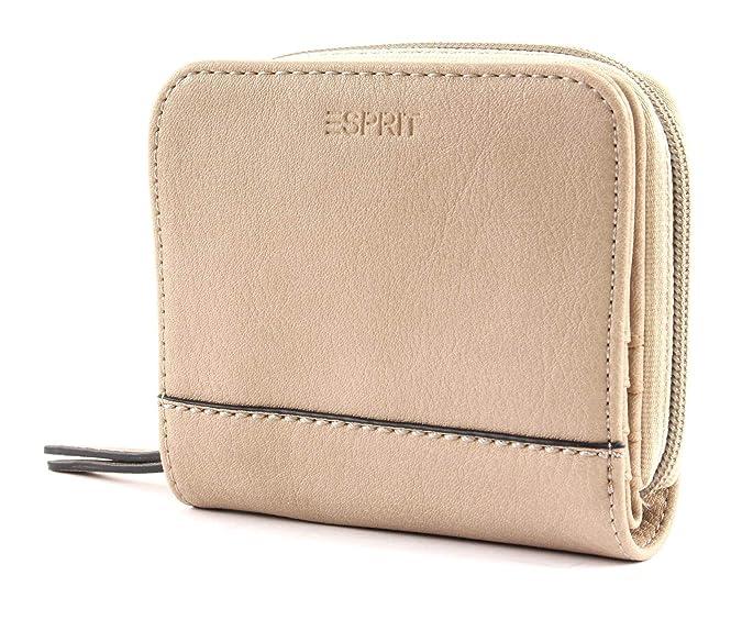 ESPRIT Mara Small Zip Wallet Geldbörse Red Rot Neu