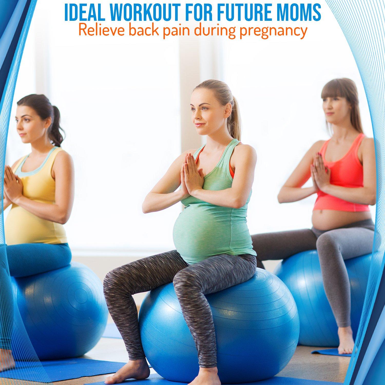 Amazon.com: Silla de balón de ejercicios de medicina, Physio ...