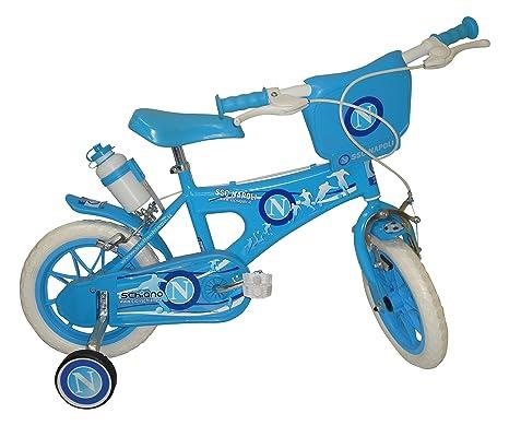 Flli Schiano Napoli Boy Bicicletta Azzurro 12 Pollici