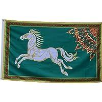 Flylong LOTR Rohan Flag Banner 3X5 Feet Green