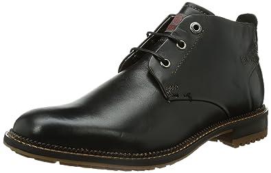 2ec4fe584590d4 Bugatti Men s U55374W Boots Black Schwarz (schwarz 100) Size  45 EU ...