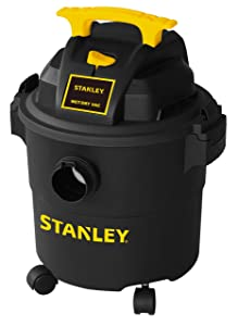 Stanley Wet/Dry Vacuum, 5 Gallon, 4 Horsepower