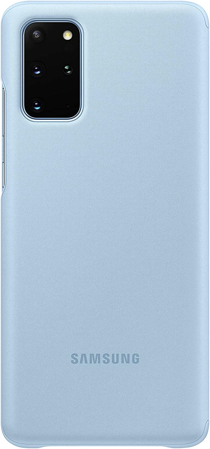 Samsung Clear View Cover Galaxy S20+ Gris