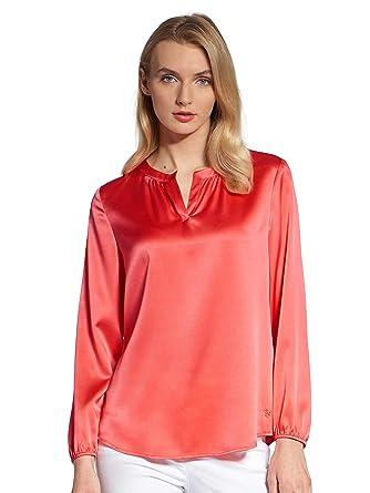 Bluse gummizug rot in Damenbluse kaufen Sie zum besten Preis