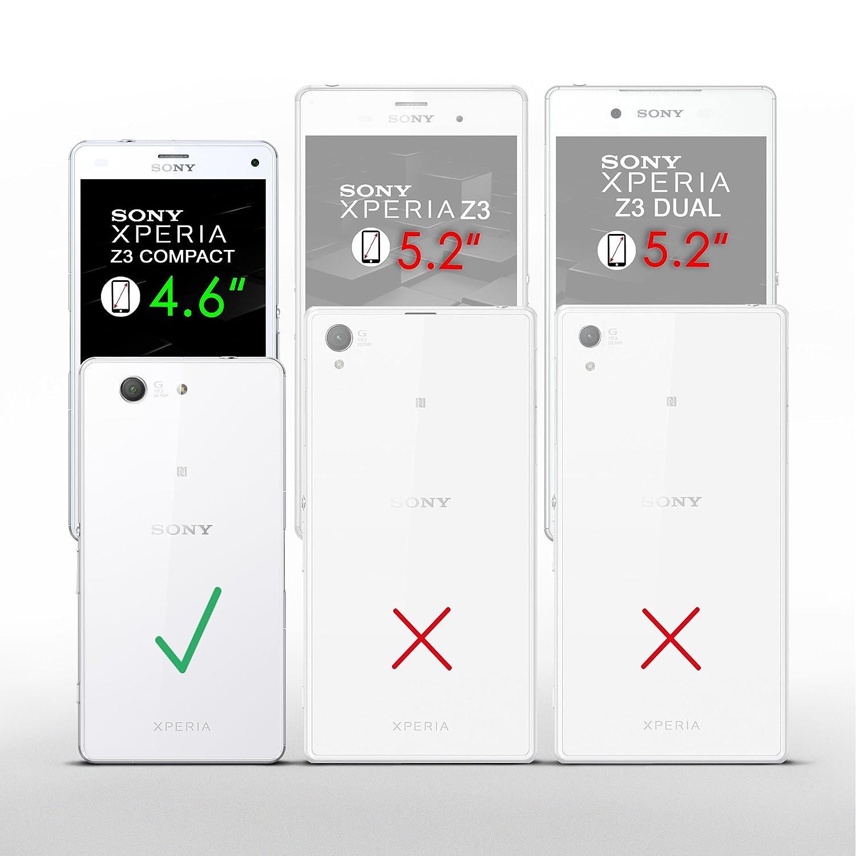 Moex 2x Sony Xperia Z3 Compact Schutzfolie Klar Elektronik Seken