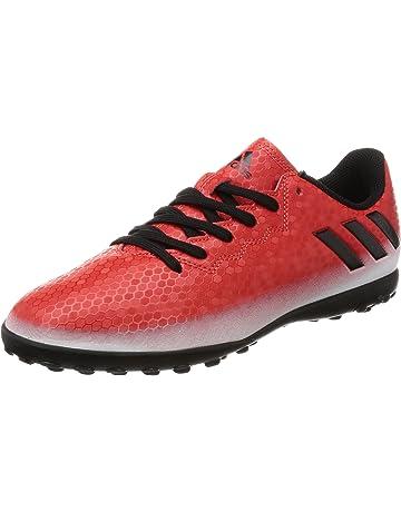 adidas Messi 16.4 Tf J - Zapatillas de fútbol Niños, Multicolore (Red/Cblack