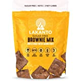 Lakanto Sugar Free Brownie Mix, Keto Brownie Mix, High Fiber, Low Carb, Zero Sugar, Gluten Free, Sweetened with Monk…