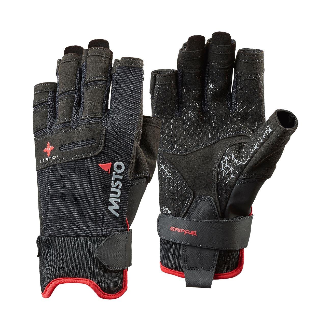 MustoパフォーマンスShort Finger Sailing Gloves – Gloves 2018 – Finger ブラック – B079V1QW23 Small, 木造町:51db08e2 --- sharoshka.org