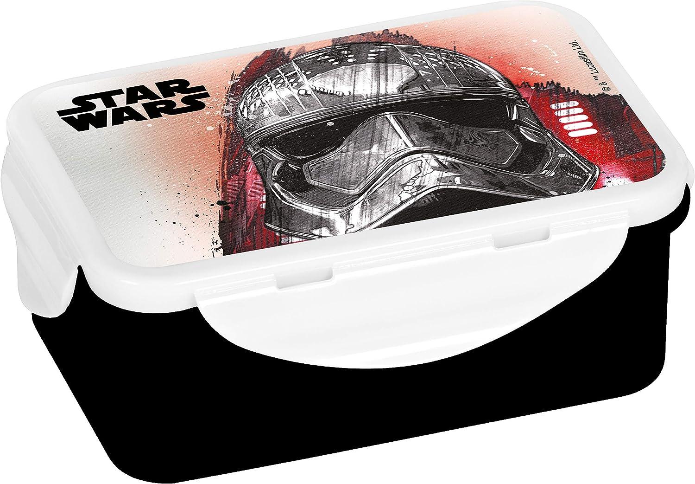 Star Wars Fiambrera con diseño del Capitán, Polipropileno, Multicolor, 16 x 10,5 x 6,5 cm