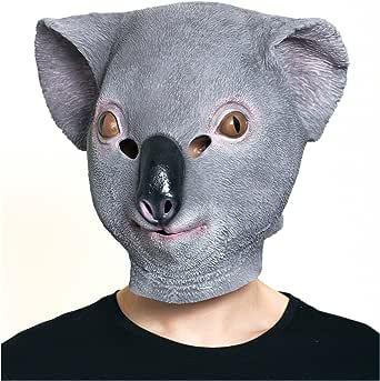 Amazon.com: HMS Men's Koala Mask, Grey, One Size: Clothing