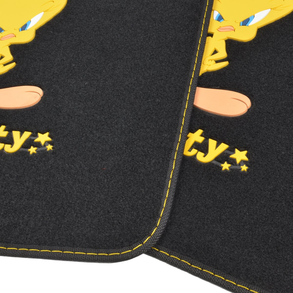 4PC Scooby Doo Head Sticking Out Tongue Front /& Rear Seat Car Truck SUV Carpet Floor Mats