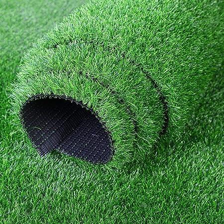 Hogar & Jardín Altura sintética de césped artificial de césped artificial de primera calidad de 20