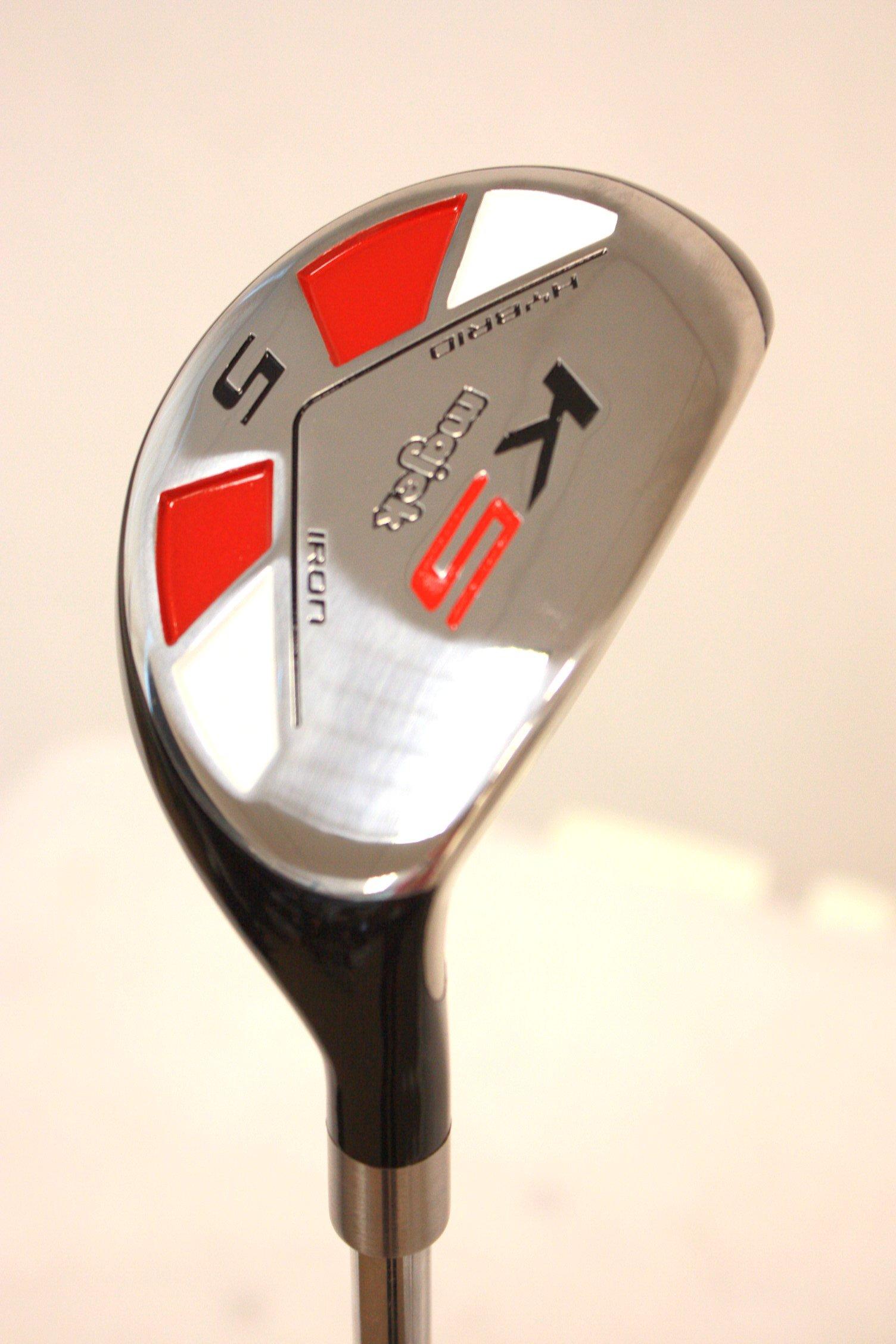 Majek Golf +1 Inch Big & Tall XL Extra Long All Hybrid #5 Stiff Flex Right Handed New Rescue Utility S Flex Club