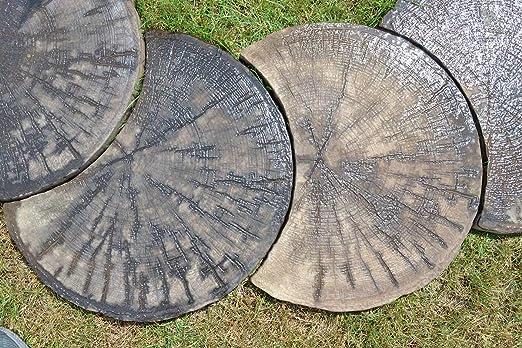 Amazon.com: 2 piezas moho Log calzarse piedra plástico ABS ...