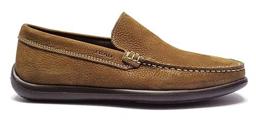 FRAU Fx 14E4 Zapatos Tabaco Marrón Hombres Mocasines Luz de Gamuza: Amazon.es: Zapatos y complementos