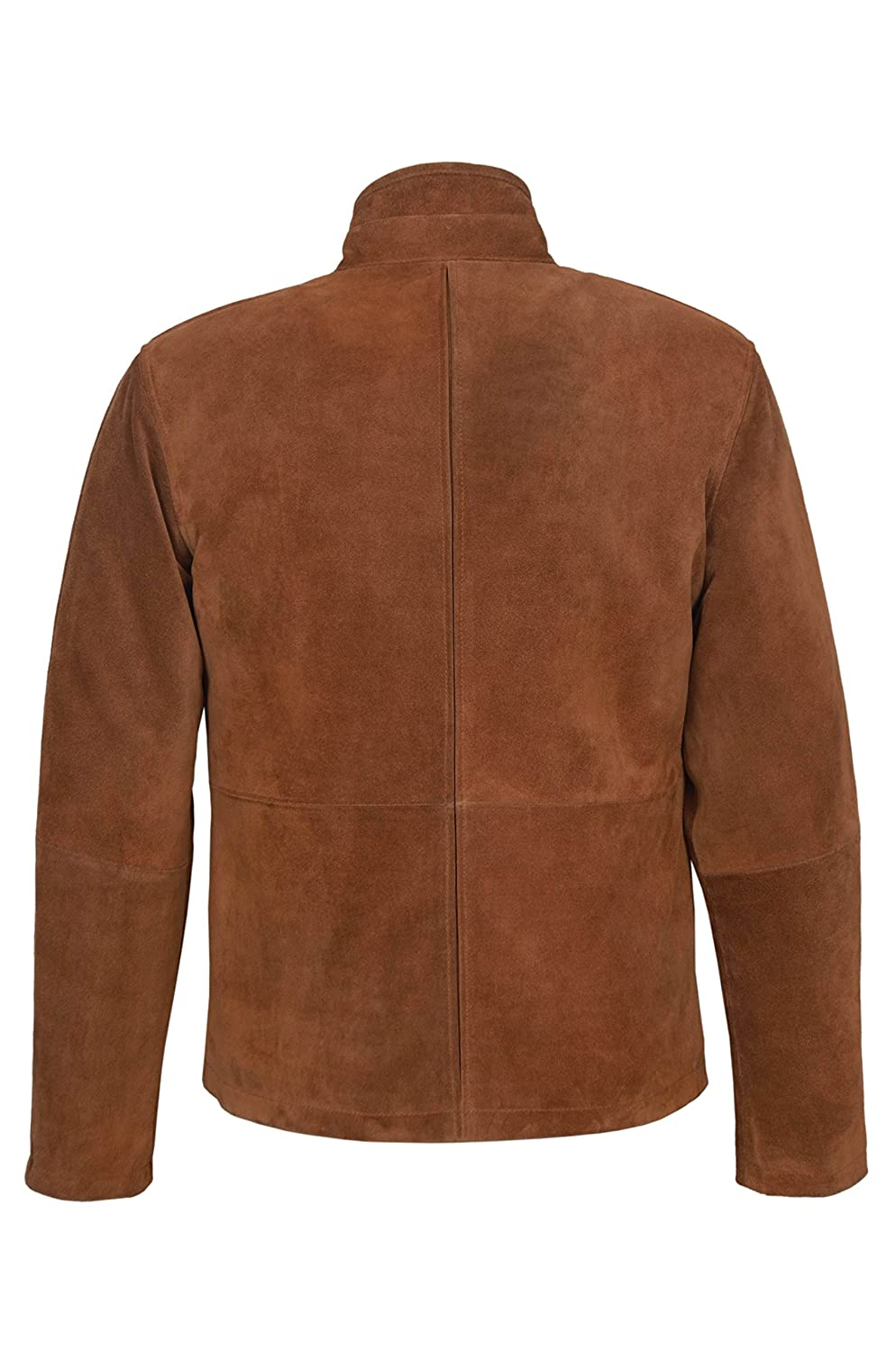 c31067410 New Men's Tom Cruise Mission Impossible Tan Classic Biker Style Real ...