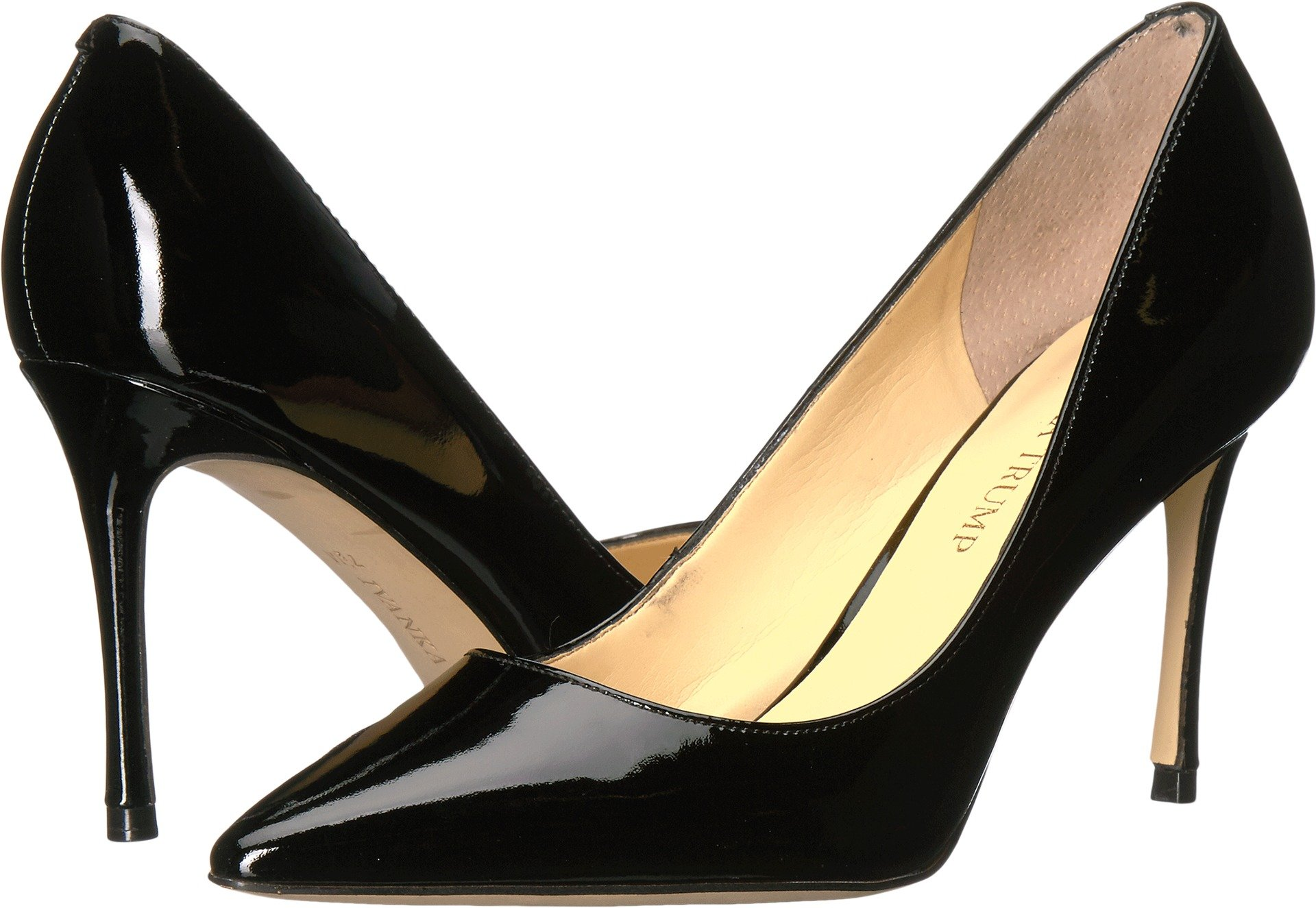 Ivanka Trump Women's Una Pump, Black Patent, 9 Medium US