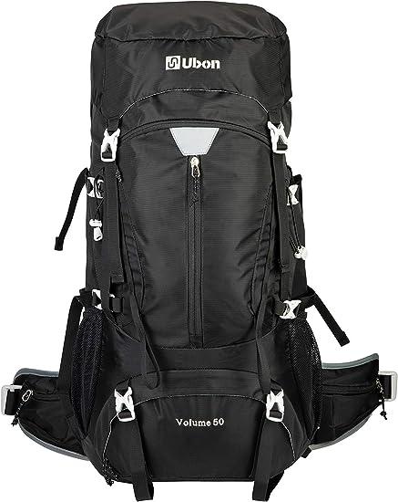 Shoulder Daypack Travel Outdoor Bag for Men Women Waterproof Lightweight Trekking Camping Rucksack Sipobuy 50L Hiking Backpack Climbing Bag