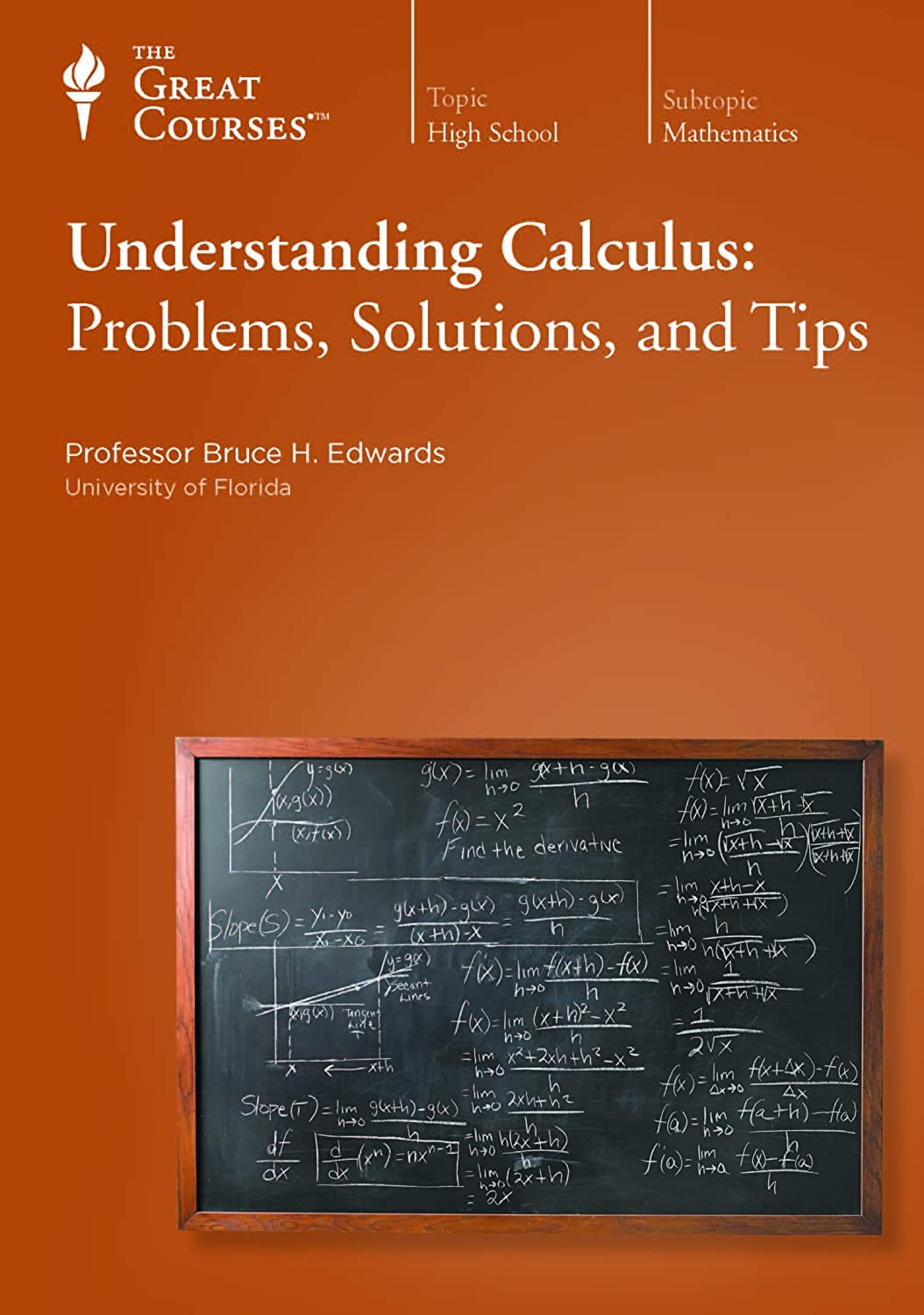 TTC - Understanding Calculus: Problems, Solutions, and Tips