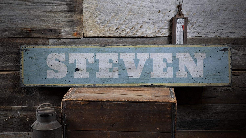 Ced454sy Baby Boy Gift Sign - Señal de guardería, nombre de bebé, decoración de nombre para recién nacido, decoración de baby shower, regalo rústico de madera