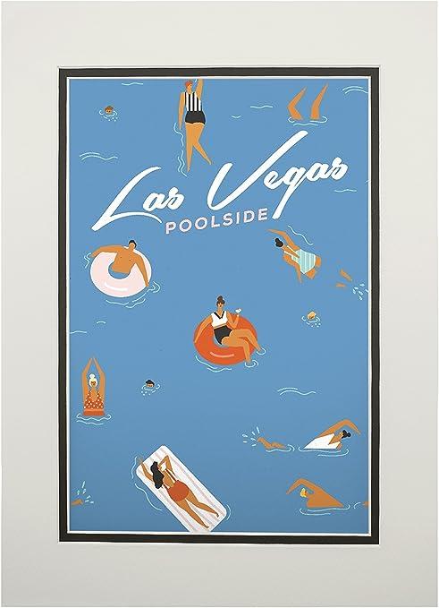 Posters, Wood /& Metal Signs Lantern Press Artwork Nevada Sin City Las Vegas