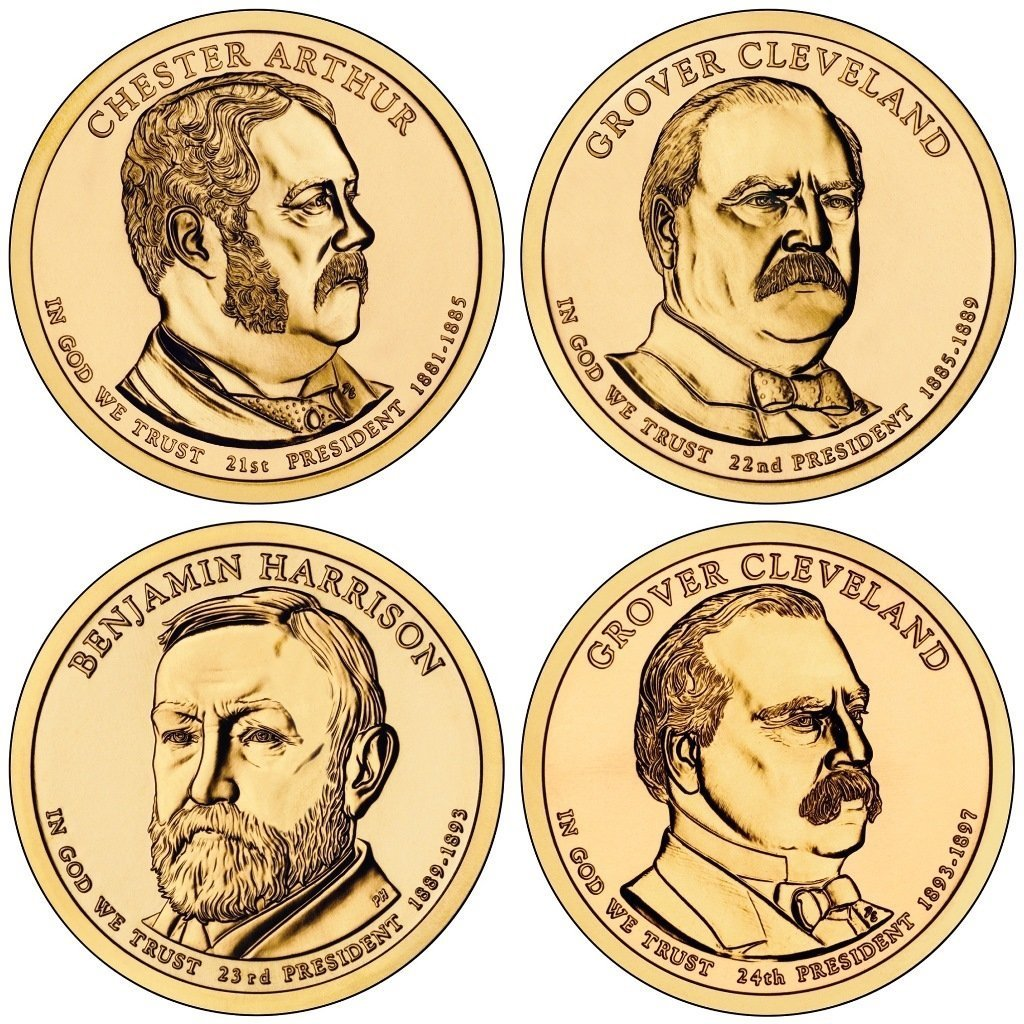 2012 P Presidential Dollar 2012 P Presidential Dollar 4-Coin P Mint Uncirculated Uncirculated 81IgbufMOZL
